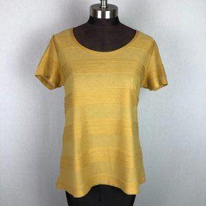 Lularoe Mustard Yellow Classic High Low Tee Top